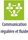 communication reguliere et fluide